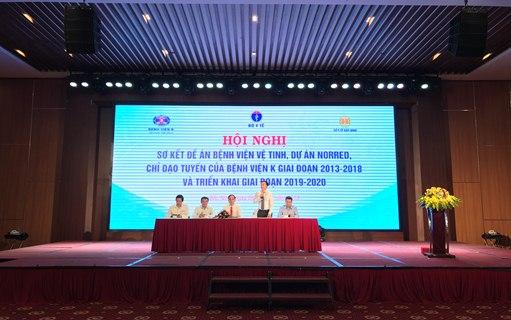 Hội nghị sơ kết triển khai Đề án Bệnh viện vệ tinh chuyên ngành ung bướu